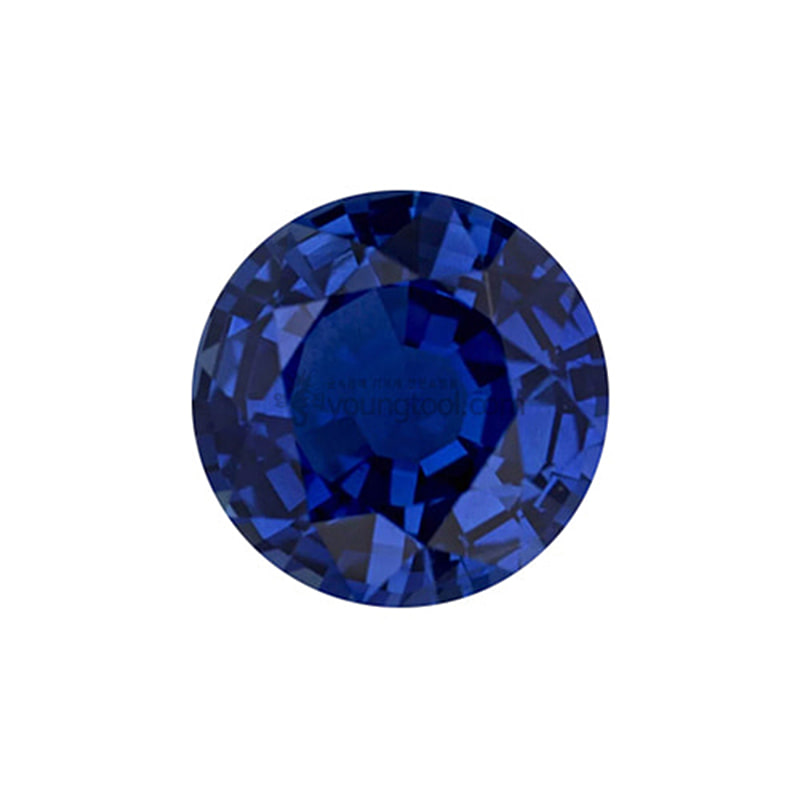 AAA+ 사파이어 (Faceted Sapphire/Round)