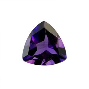 자수정 (Faceted Amethyst/Trillion)