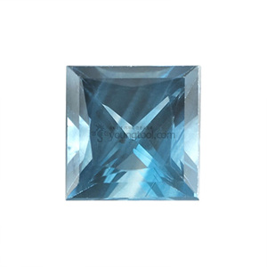 아쿠아마린 (Faceted Aquamarine/Square)