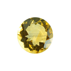 시츄린 (Faceted Citrine/Round)