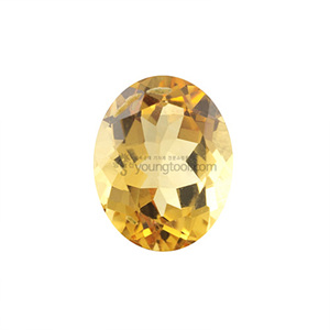 시츄린 (Faceted Citrine/Oval)