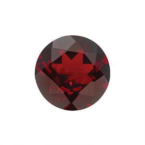 가넷 (Faceted Garnet/Round)
