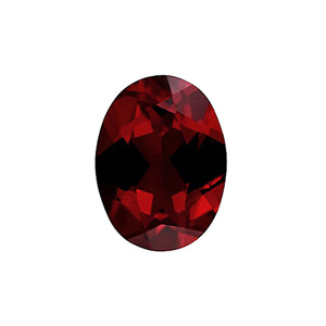 가넷 (Faceted Garnet/Oval)