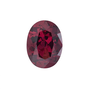 로돌라이트 가넷 (Faceted Rhodolite Garnet/Oval)