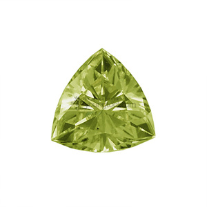 페리도트 (Faceted Peridot/Trillion)