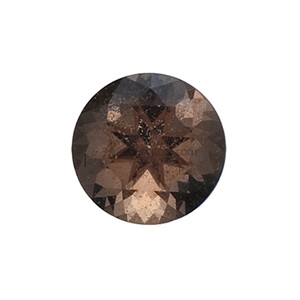 스모키 수정 (Faceted Smoky Quartz/Round)