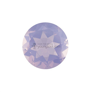 라벤더 문 수정 (Faceted Lavender Moon Quartz/Round)