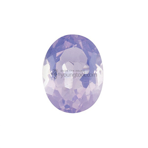 라벤더 문 수정 (Faceted Lavender Moon Quartz/Oval)