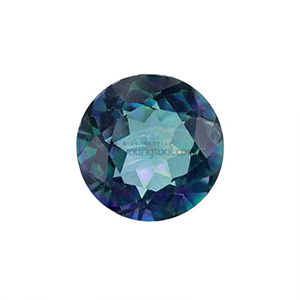 레인보우 토파즈 (Faceted Rainbow Topaz/Round)