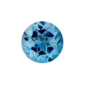아이스블루 토파즈 (Faceted Ice blue Topaz/Round)