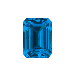 스위스블루 토파즈 (Faceted Swiss Blue Topaz/Emerald)