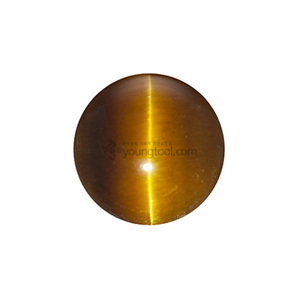 호안석 (Cabochon Tiger Eye/Round)