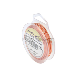 Beadalon 아티스틱 와이어 Standard Color (Bare Copper/Retail Spool)