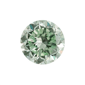 Ex-S 그린 수정 (Faceted Green Quartz/Round Checkerboard)
