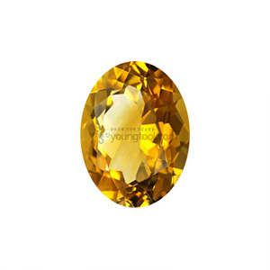 Ex-S 시츄린 (Faceted Citrine/Oval)
