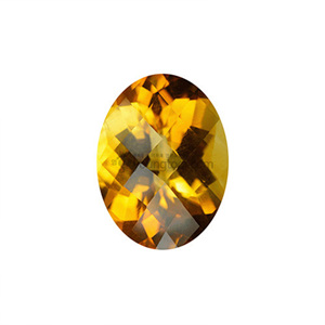 Ex-S 시츄린 (Faceted Citrine/Oval Checkerboard)