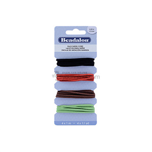 Beadalon Faux Suede 모조 스웨이드끈 (4종/Cord Variety Pack)