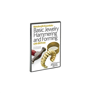 Metalsmith Essentials: Basic Jewelry Hammering and Forming, Vol. 1, with Bill Fretz DVD