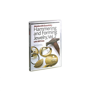 Metalsmith Essentials: Basic Jewelry Hammering and Forming, Vol. 2, with Bill Fretz DVD