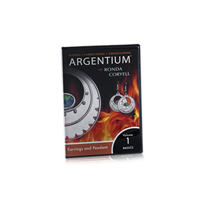 Argentium, Volume 1 -- Earrings and Pendant, DVD