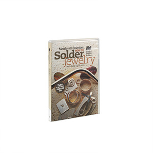 Metalsmith Essentials: How To Solder Jewelry, Vol. 1, DVD