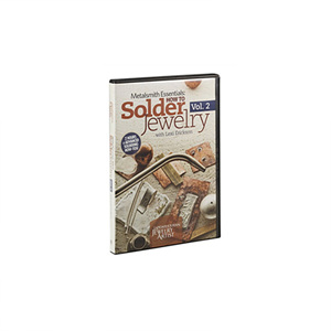 Metalsmith Essentials: How To Solder Jewelry, Vol. 2, DVD