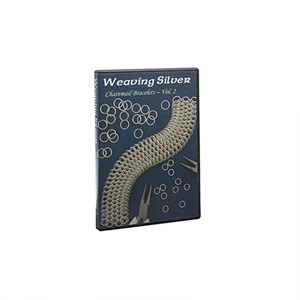 Weaving Silver Chainmail Bracelets, Vol. 2, DVD