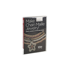 Make Chain Maille Jewelry! Single, Double, and Byzantine DVD