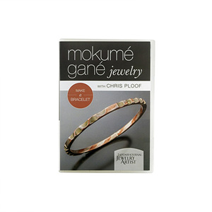 Mokume Gane Jewelry: Make A Bracelet with Chris Ploof, DVD