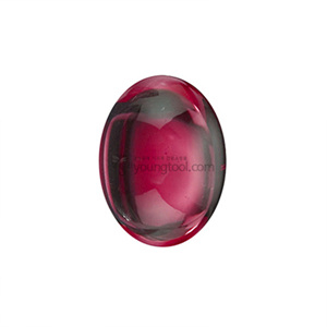 루비 (Cabochon Lab-Grown Ruby/Oval)
