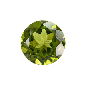 AAA+ 페리도트 (Faceted Peridot/Round)