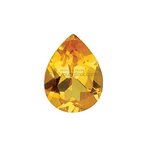 AAA+ 시츄린 (Faceted Citrine/Pear)