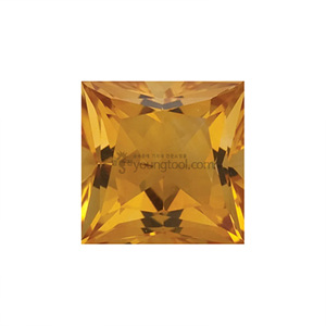 AAA+ 시츄린 (Faceted Citrine/Square)