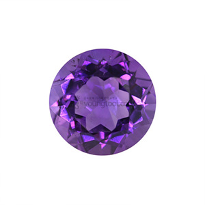 AAA+ 자수정 (Faceted Amethyst/Round)