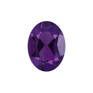 AAA+ 자수정 (Faceted Amethyst/Oval)