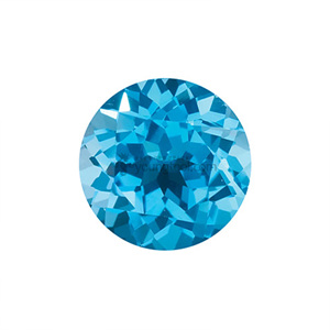 AAA+ 스위스블루 토파즈 (Faceted Swiss Blue Topaz/Round)