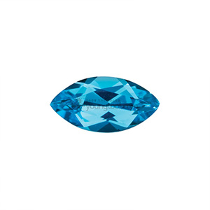 AAA+ 스위스블루 토파즈 (Faceted Swiss Blue Topaz/Marquise)
