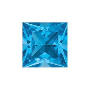 AAA+ 스위스블루 토파즈 (Faceted Swiss Blue Topaz/Square)