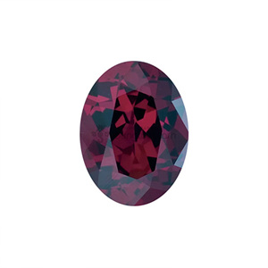 AAA+ 로돌라이트 가넷 (Faceted Rhodolite Garnet/Oval)