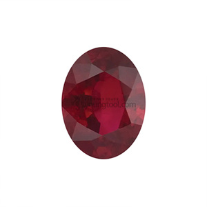 AAA+ 루비 (Faceted Ruby/Oval)