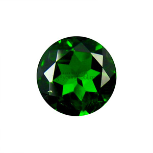 크롬 다이옵사이드 (Faceted Chrome Diopside/Round)