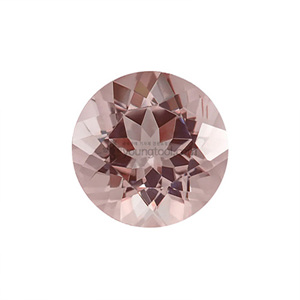 모가나이트 (Faceted Morganite/Round)