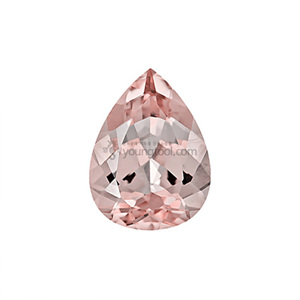 모가나이트 (Faceted Morganite/Pear)